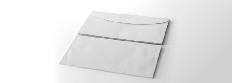 envelope top